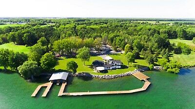 Magnificent 10 Acre Estate 500 ft Waterfront. Premium Location. Ontario, Canada
