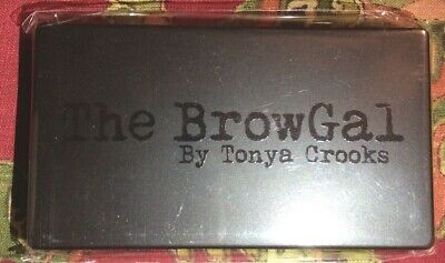 The Brow Gal BrowGal Tonya Crooks Convertible Palette UNIVERSAL shade wet 5.5g