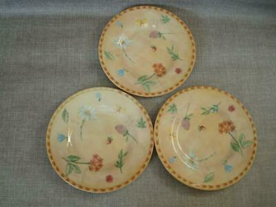 "Royal Stafford Gardeners Journal 7 1/4"" Side Plates X 3"