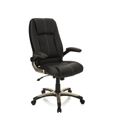 Office Chair Executive Chair PU Leather foldable Armrests PALATIN hjh OFFICE