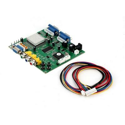 Arcade Game RGB CGA EGA YUV to VGA HD Video Converter Board HD9800 GBS8200 MT