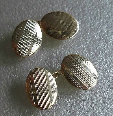 Cufflinks Vintage Mens Cuff Links TRADITIONAL 1960s 1970s