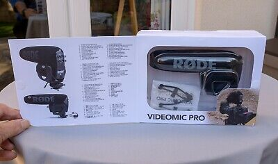 Rode Microphones VideoMic Pro Compact Directional on Camera Microphone
