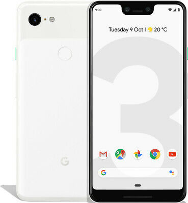 Google Pixel 3 XL 64GB Clearly White, TOP Zustand