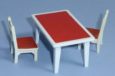 Playmobil Victorian Mansion Kitchen Furniture Chairs & Table House from 5322