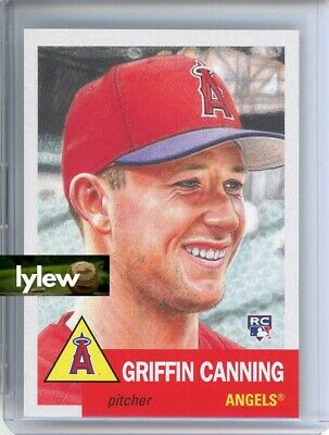 2019 Topps Living Set * GRIFFIN CANNING (RC) * Card #230 * Los Angeles Angels