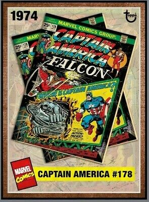 Topps MARVEL COLLECT DIGITAL Card ARCHIVES CAPTAIN AMERICA FALCON #178