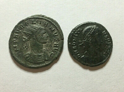 >>> Ancient Roman Coins 2pcs <<<