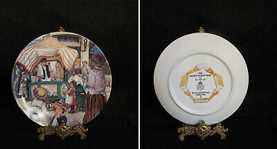 6 Royal Worchester The Good Old Day Collection 20 cm Diameter Plates