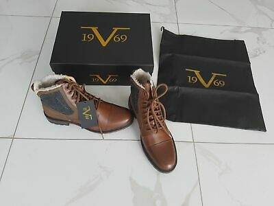19V69 VERSACE 1969 Business Stiefelette Boots, HANDMADE