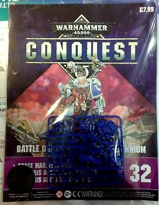 "Warhammer 40,000 Conquest ""Primaris Apothecary"" Sealed / New (Issue - 32)"