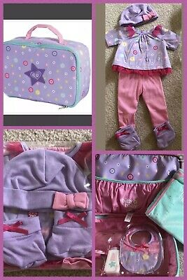 American Girl Bitty Baby Doll diaper bag, Blanket, Bottle, Outfit & More NEW!