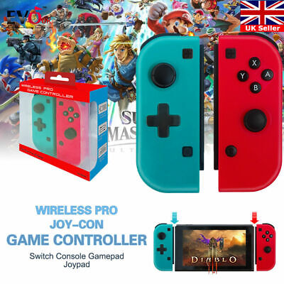 Wireless Pro Joy-Con Game Controller For Nintendo Switch Console Gamepad S1X4T