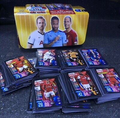 Match Attax 2019/20 Bundle Cards Limited Edition/100 Club/motm + More 19/20