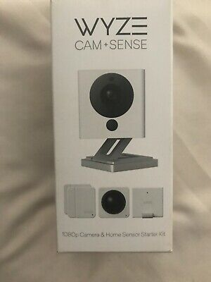 New Wyze Cam V2 1080P Indoor Smart Home Camera with Wyze Sense Starter Kit