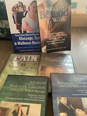 Massage Spa And Wellness Books And Instructional DVD's Felicia Brown LMBT