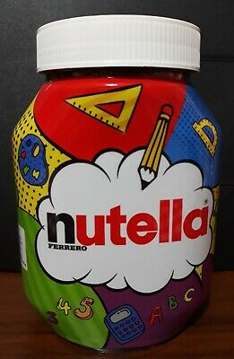 Nutella barattolo limited edition back to school