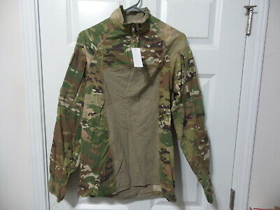 Brand New Massif Ocp Multicam Army ¼ Zipper Acs Combat Shirt Medium Fr Usgi