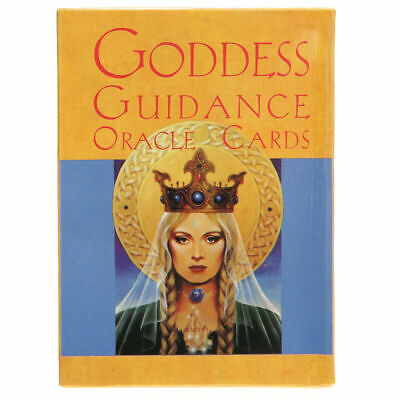 In Box Goddess Guidance Oracle Cards Doreen Virtue 44 Cards Deck English O4H1W
