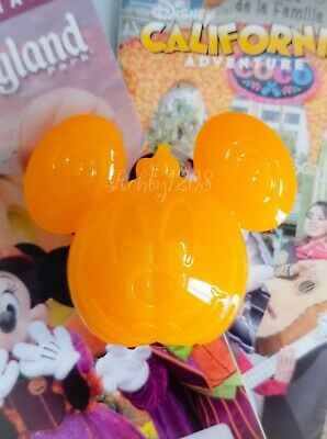 Disney Parks Disneyland MNSSHP Mickey Pumpkin Light Up Bottle Topper & Straw NEW