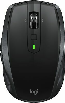 Logitech - MX Anywhere 2S Wireless Laser Mouse - Black