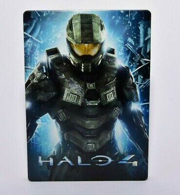 Halo 4 Steel Book G1 Case Only No Game