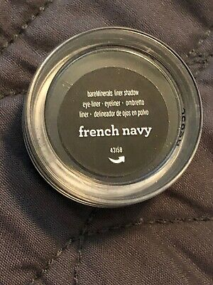 Bare Escentuals BareMinerals FRENCH NAVY Eye Wet Dry Pigment Shadow Liner XS