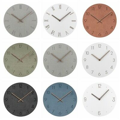 2019 NEW Wall Clock Wooden Home Decor Quartz Large Super Quite Nordic Style
