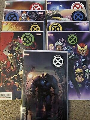 House of X #1,#2,#3,#4,#5,Powers Of X #1,#2,#3#4 Set, All First Prints NM Mavel