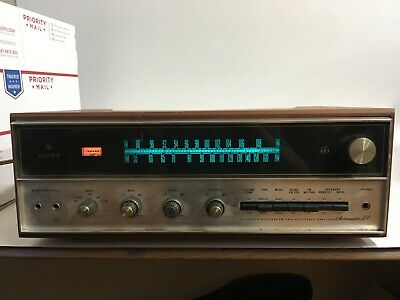 H.H. SCOTT 384 Stereomaster Receiver with Cabinet Rare