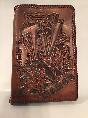 Vintage Leather TV Guide Cover