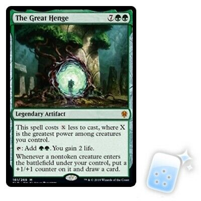 THE GREAT HENGE Throne Of Eldraine ELD Magic MTG MINT CARD