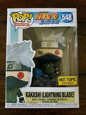 Funko Pop Kakashi #548 Naruto Hot Topic Exclusive w/Pop Protector