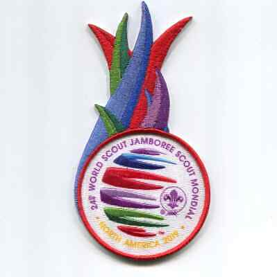2019 World Jamboree Patch -Flame  Patch
