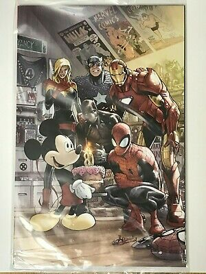 MARVEL COMICS 1000 HUMBERTO RAMOS D23 EXPO 2019 VARIANT - 1st MICKEY MOUSE COVER