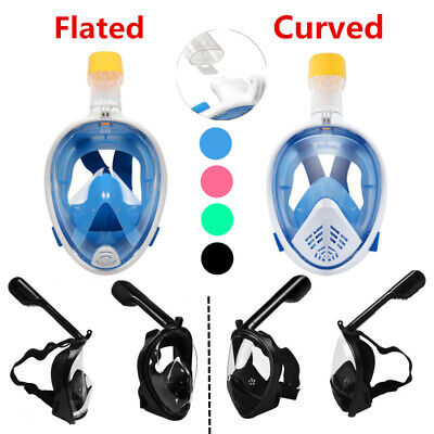 LEUCOTHEA Full Face Diving Snorkel Mask Swimming Water Sport Anti-Fog Kids Adult