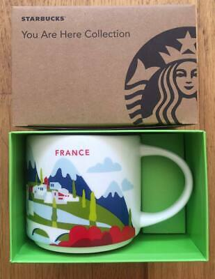 Mint New Authentic Starbucks FRANCE You Are Here Collection 14oz Mug