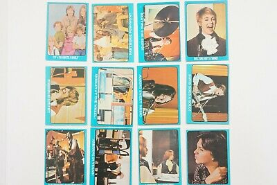 Partridge Family blue set of 55 cards 1971 Scanlens/Topps very good-near mint