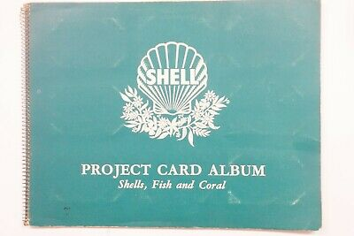 Shell Project Cards Shells, Fish and Coral set of 60 cards & album 1960
