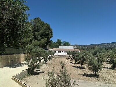 Spanish detached house /  finca with private pool and olive grove