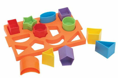 FunTime Shape Sorter Tray Baby Toddler Fun Educational Learning Toy 12 Months +