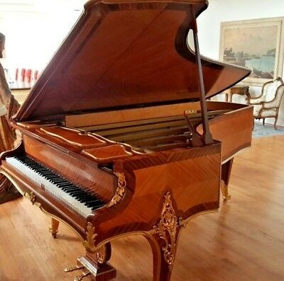 Francois Linke Cased Erard French Grand Piano 1901-1910 Mounted Bronze Ormolu