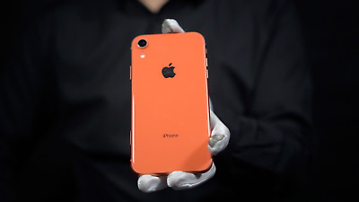 Apple iPhone XR 64GB 4G Unlocked Smart Phone Coral - 'The Masked Man'