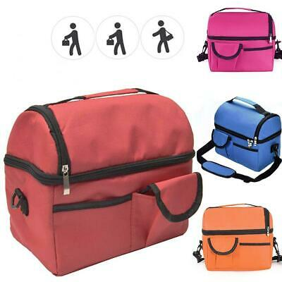Insulated Lunch Bag For Women Men Kids Thermos Cooler Adults Tote Food Lunch-Box