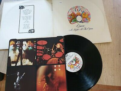 "Queen Lp+Inner-""A Night At The Opera ""-Emtc 103"