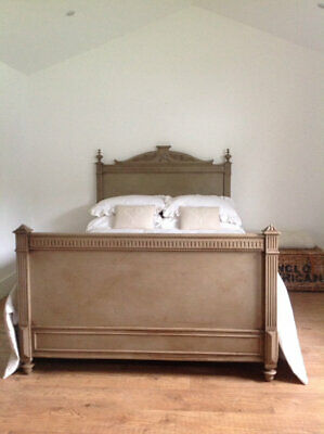 Antique french kingsize bed from seventh heaven