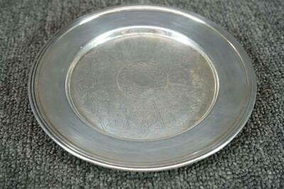"Federal Silver Co. Silverplate 6"" Trinket Dish"