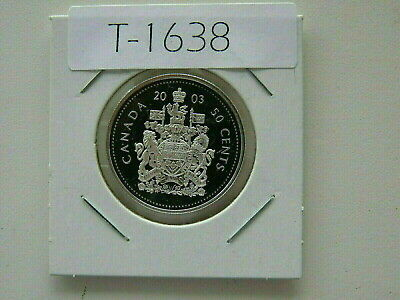 Canada 2003 50 Cent Silver Proof  Special Edition  From Double Dollar Set  T1638