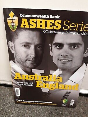 AUSTRALIA v ENGLAND Ashes  2013/2014 4th Test MCG official programme