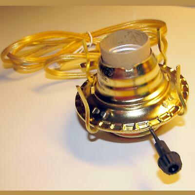 Oil lamp adapter Electric #2 Burner for old, antique, banquet,or painted lamps